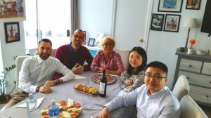 Study with Spanish family
